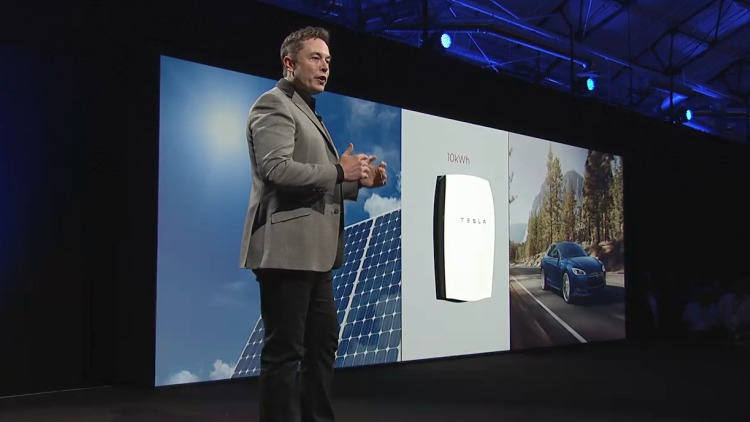 Elon Musk Introduces Tesla PowerWall