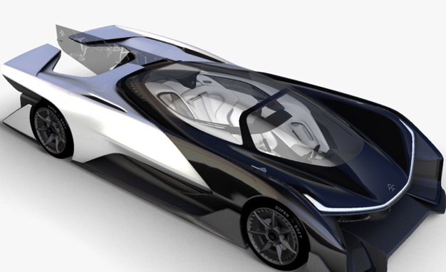 Faraday Future concept car