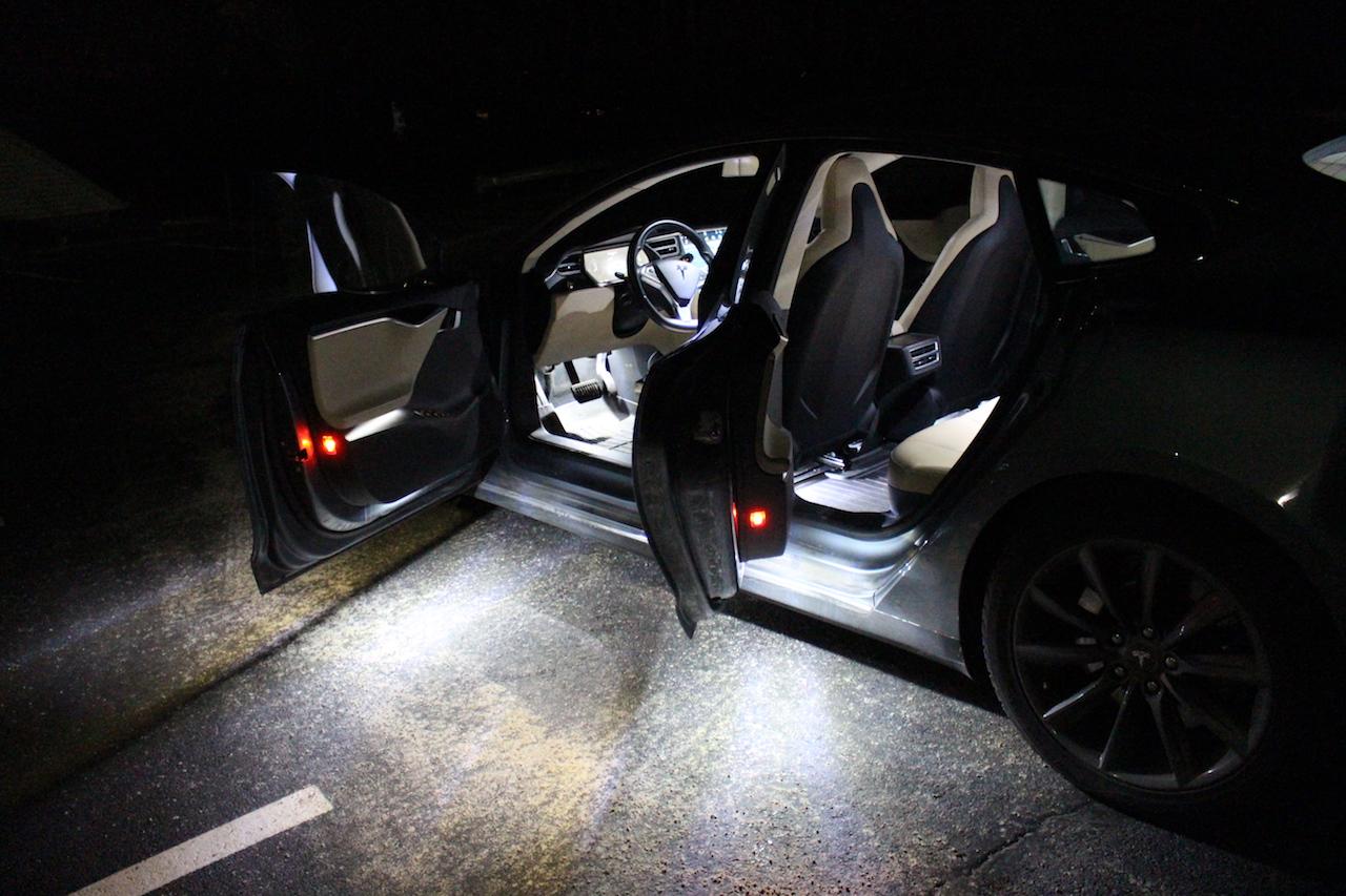 Diy Tesla Model S And X Ultra Bright Led Interior Light Kit