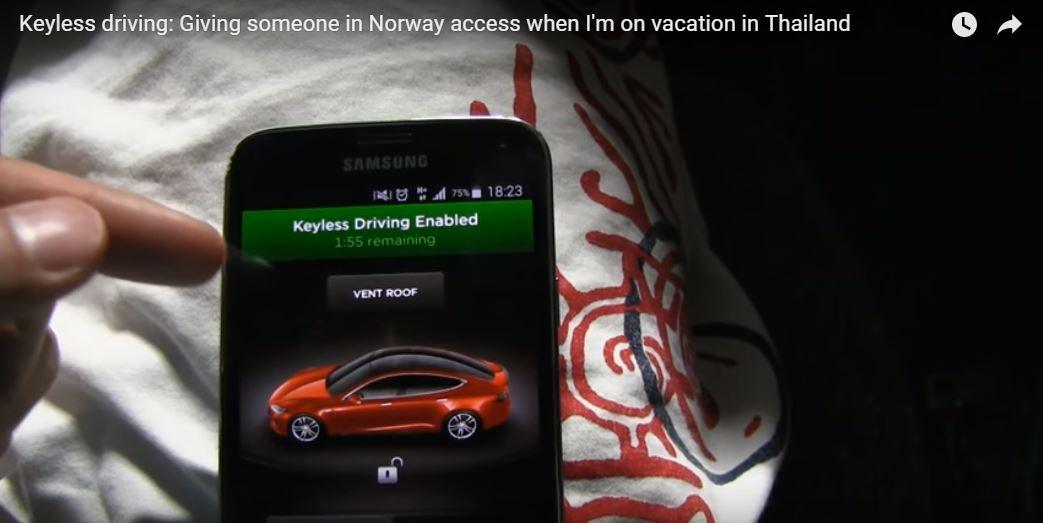 Keyless Driving App
