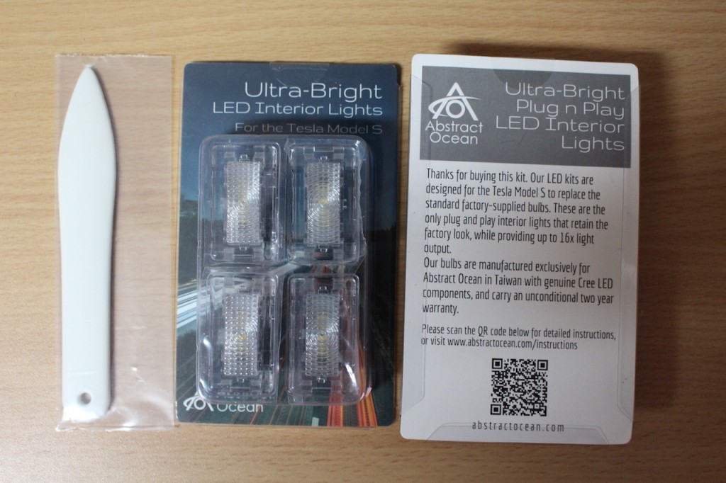 Abstract Ocean Interior light kit