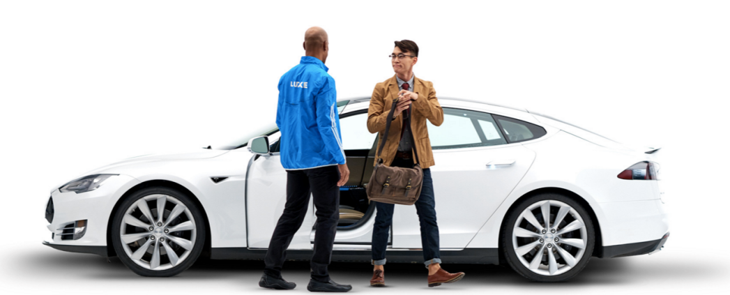 Luxe Tesla partnership