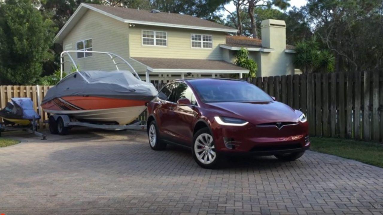 Tesla Model X Range Impact When Towing