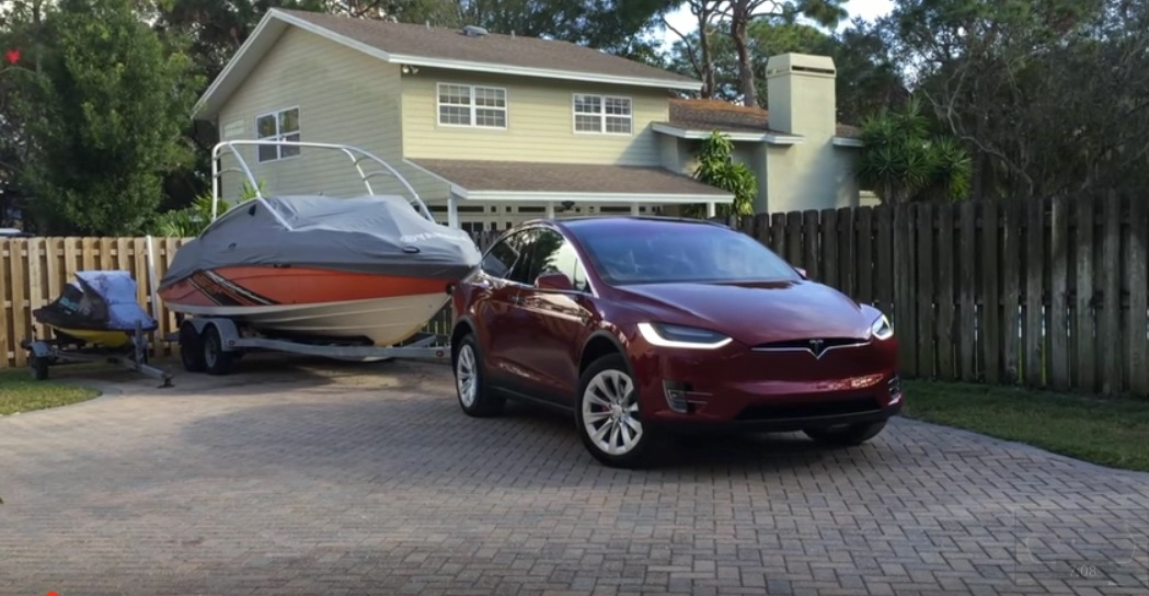 tesla model x range impact when towing. Black Bedroom Furniture Sets. Home Design Ideas