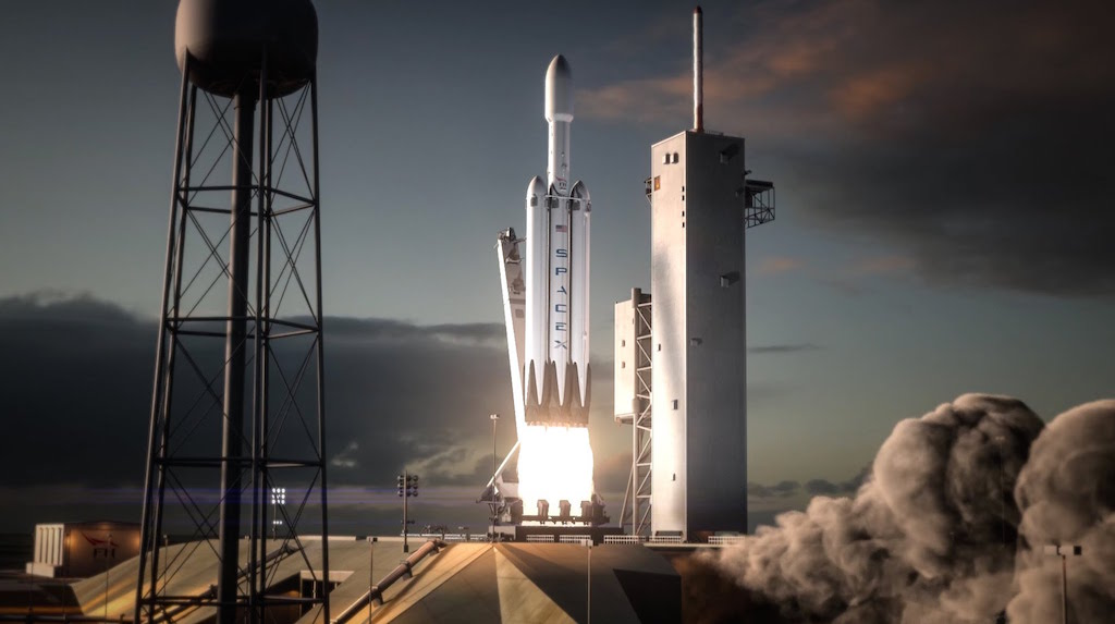 spacex s massive falcon heavy rocket aims for december 29 inaugural launch
