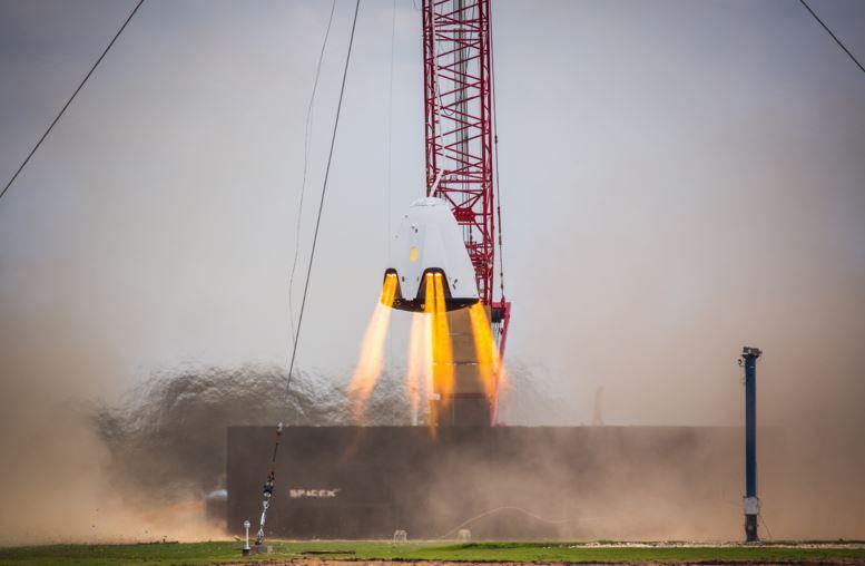 SpaceX SuperDraco test