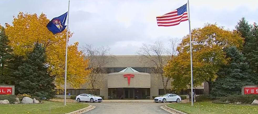 Tesla Michigan plant