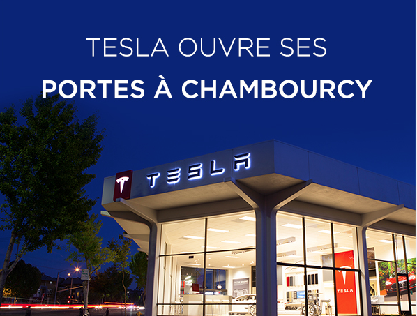 Tesla store in Paris
