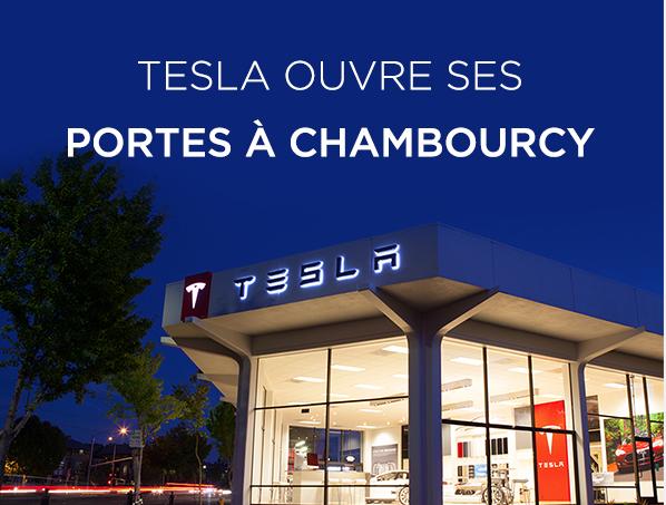 Tesla store in Paris