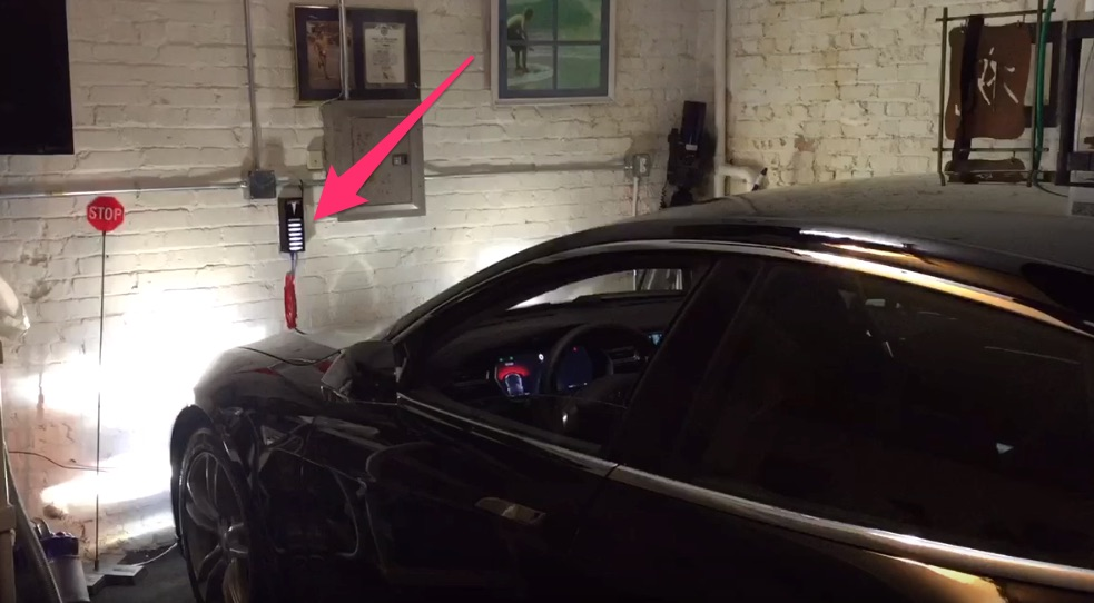 Ultrasonic-Tesla-Garage-Parking-Sensor