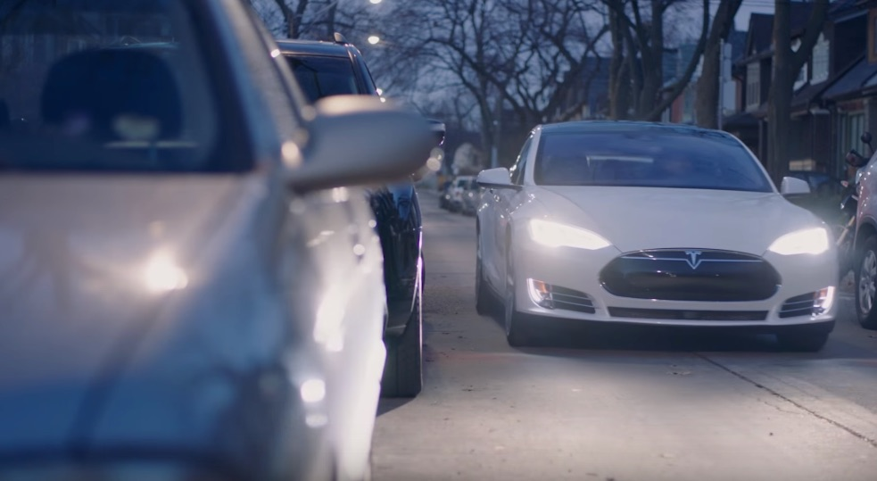 White-Tesla-Model-S-City-Street