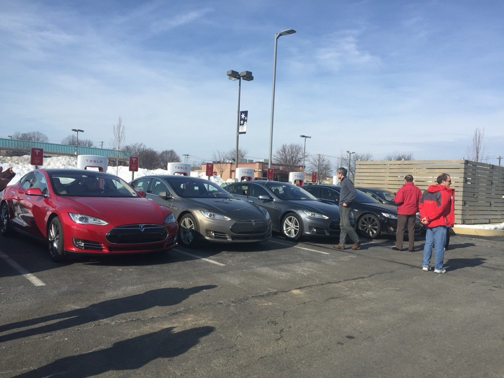 Tesla Allentown, PA Supercharger