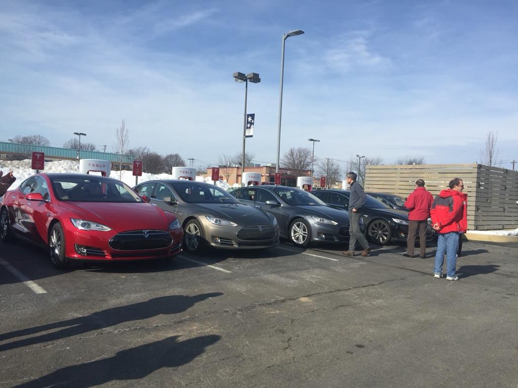 Tesla Allentown, PA Supercharger