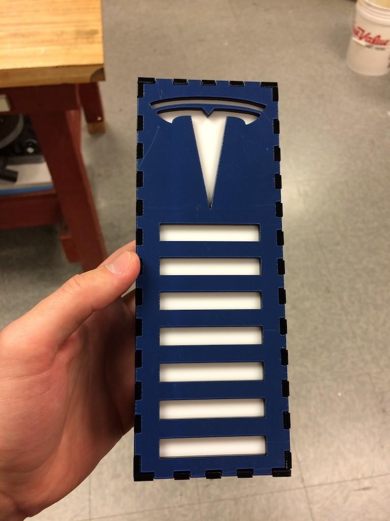 Tesla garage parking sensor cover