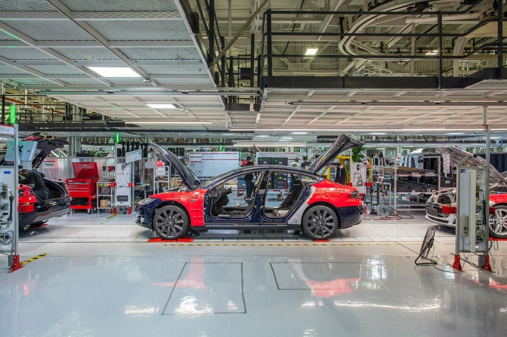 Wired UK Tesla Factory Tour