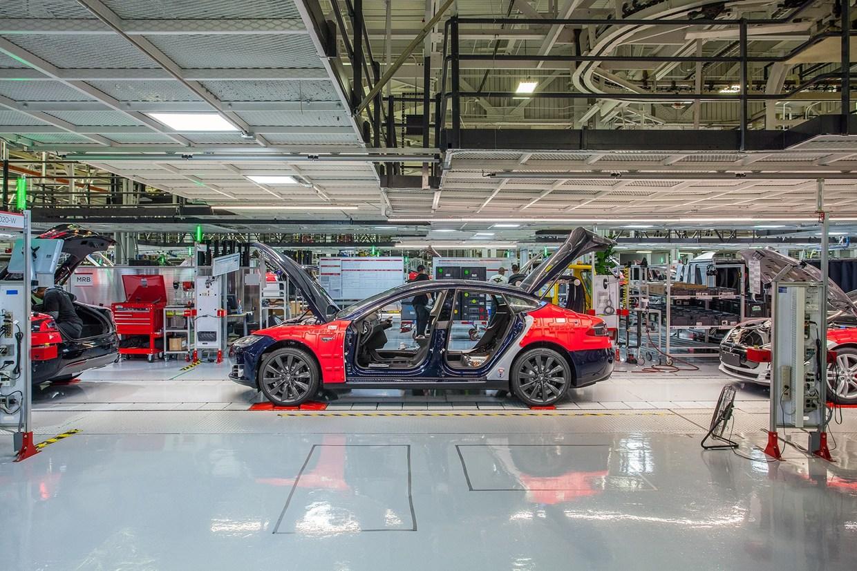 Wired UK Tesla Factory Tour