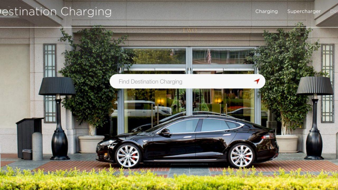 Becoming a Tesla Destination Charging Participant