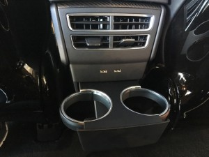 Model X Rear Cupholders