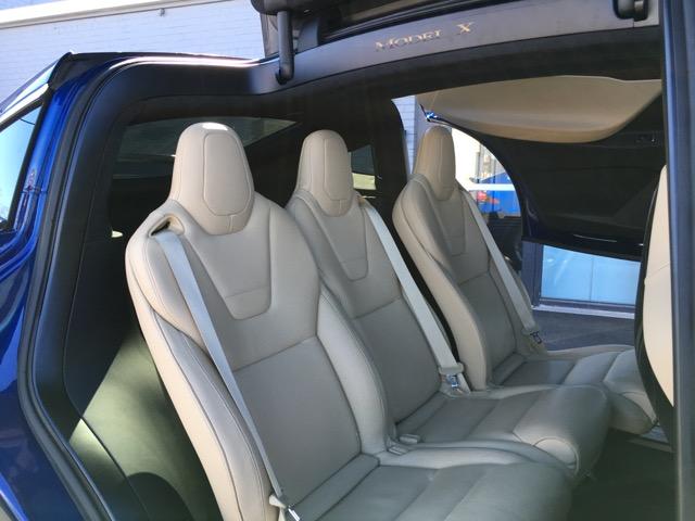 Model X Second Row Seats