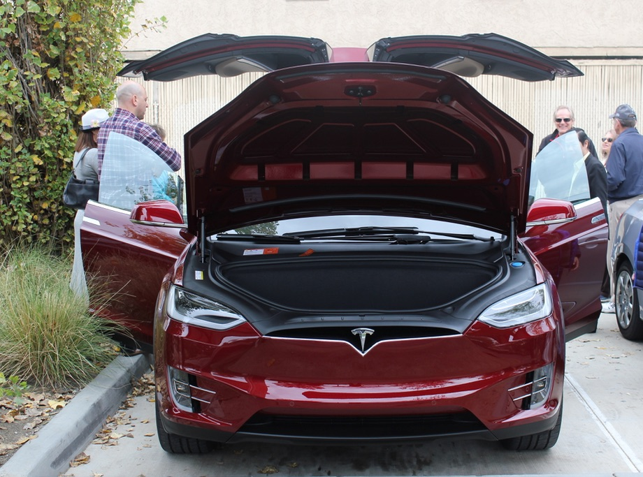 Tesla Model 3 In Signature Red Spotted Likely Option