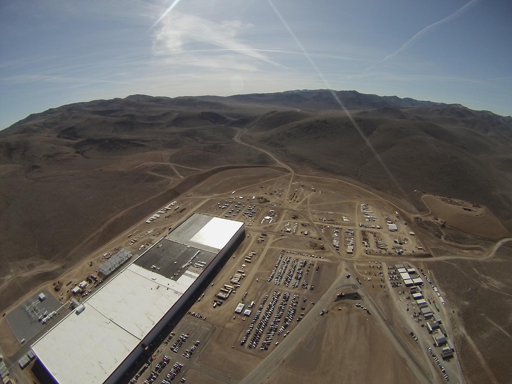 Tesla Gigafactory Feb 2016 [Source: Josh McDonald]