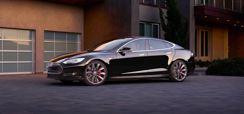Tesla Model S via Tesla