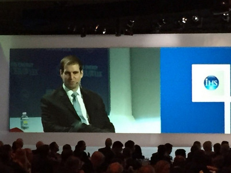 JB Straubel at IHS CERAWeek in Houston