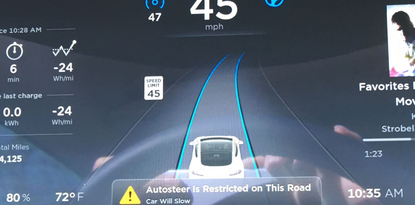 AutoSteer Restrictions 3-5