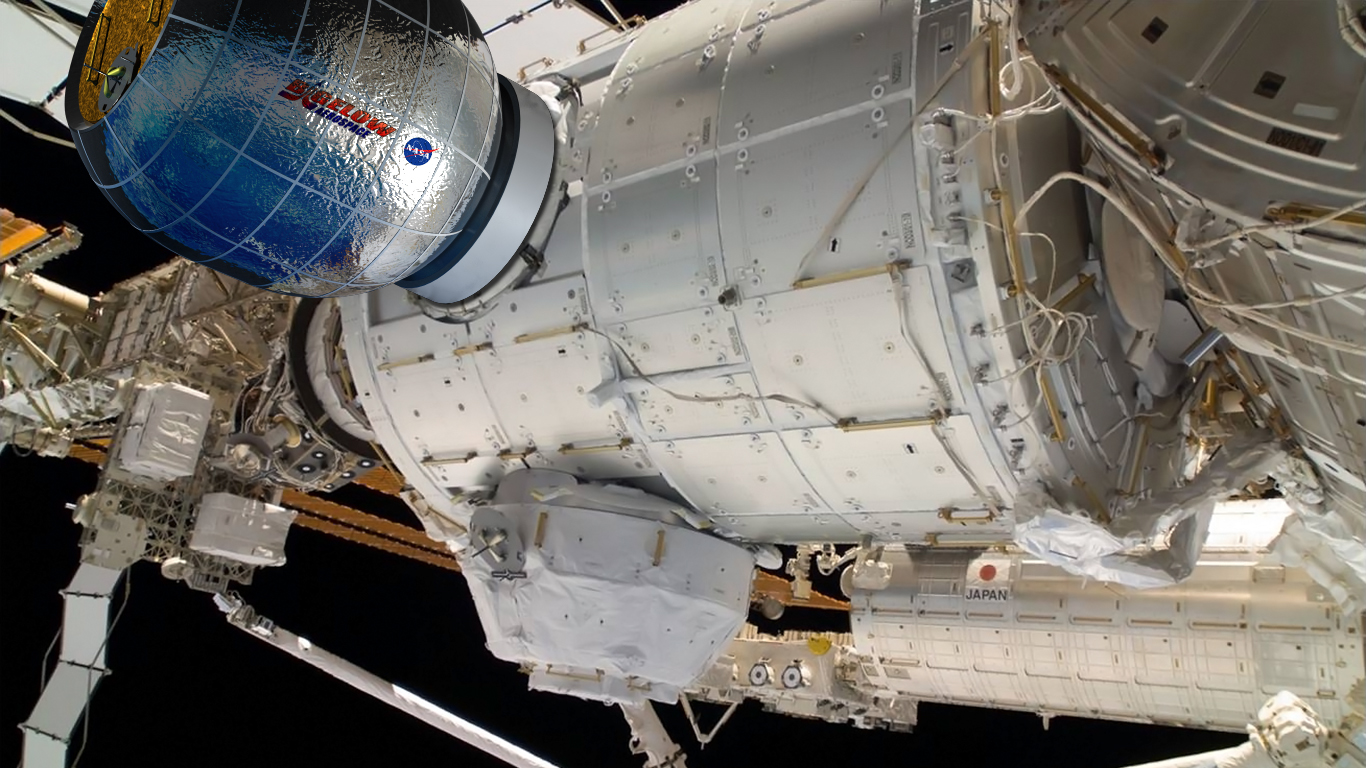 Bigelow-Aerospace-BEAM-modul-affixed-to-the-International-Space-Station-Bigelow-image-posted-on-SpaceFlight-Insider