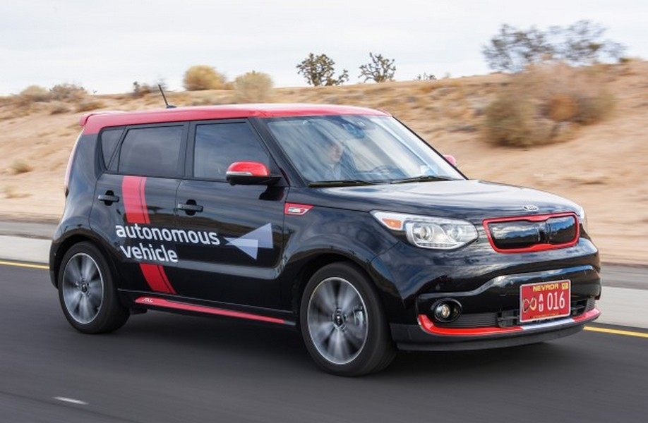 Kia-Soul-EV-Autonomous-Vehicle_Driving Via Car and Driver