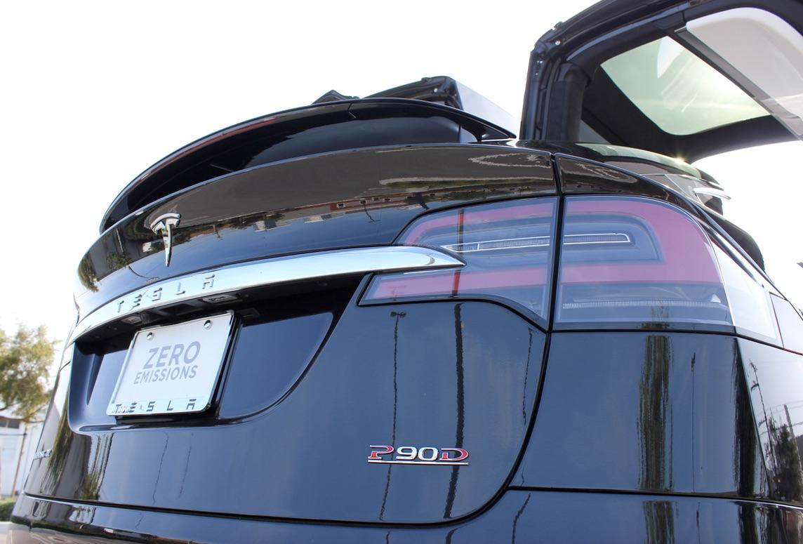 Model-X-P90DL-Emblem-Falcon-Door-Open
