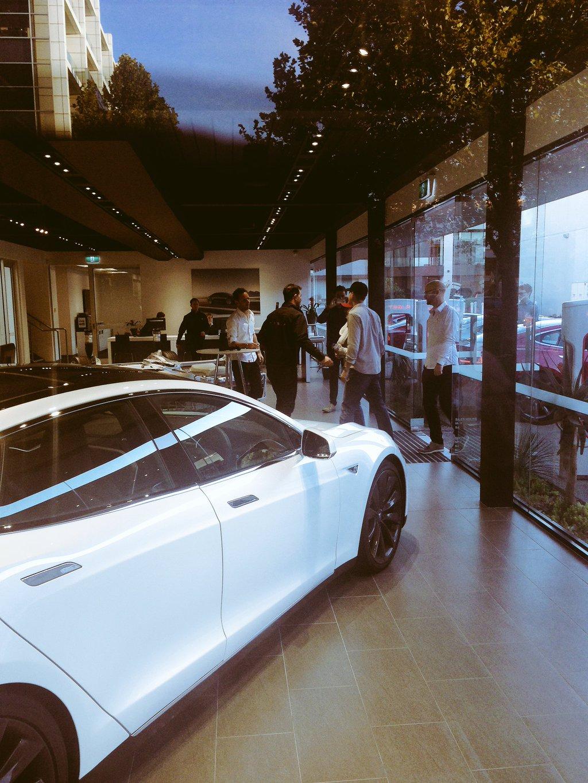 Tesla Melbourne welcomes first Model 3 reservation holder