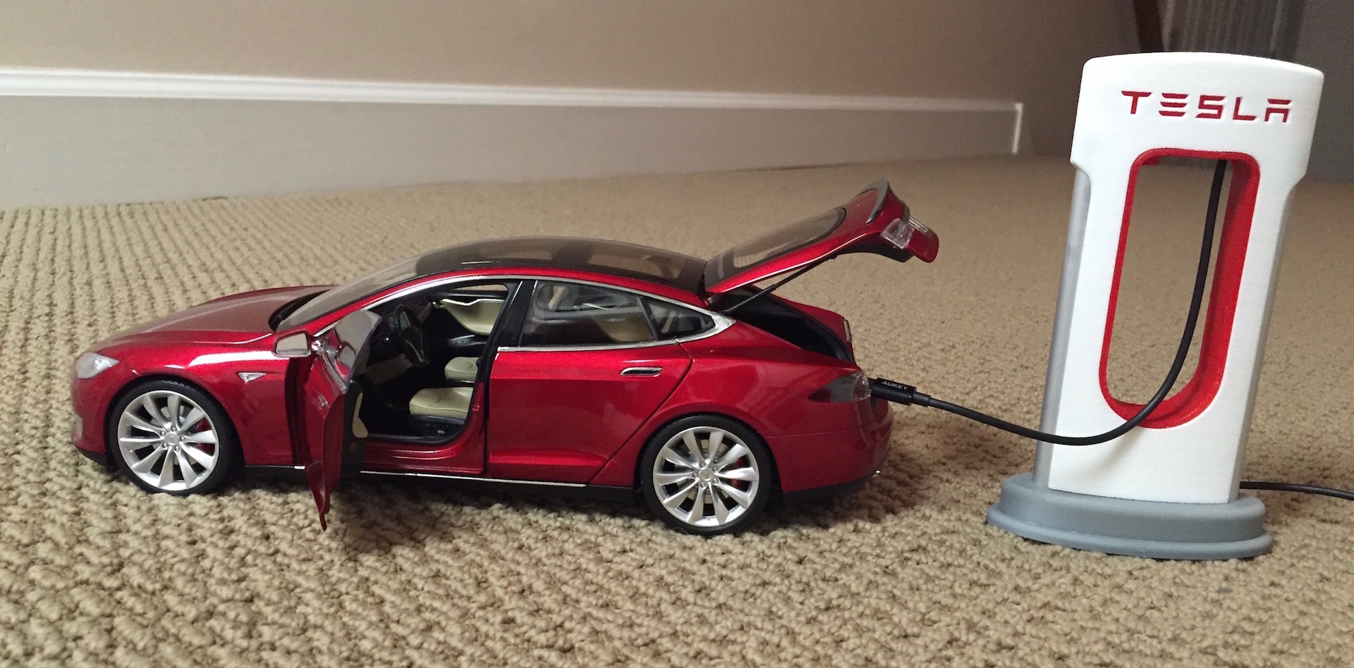 Build Your Own 3d Printed Tesla Supercharger