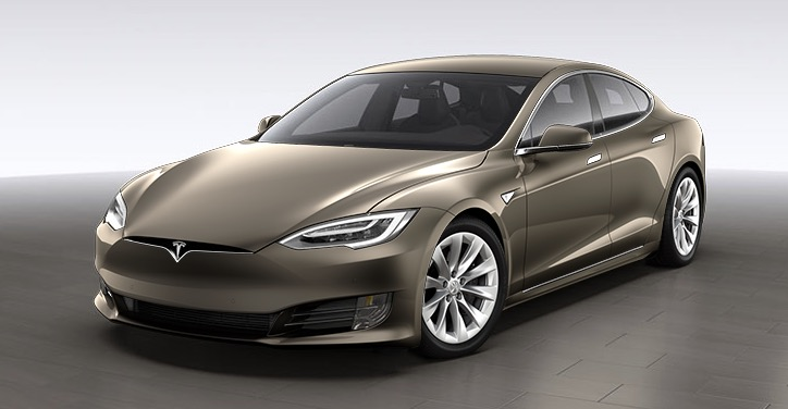 2016 Tesla Model S revised front end