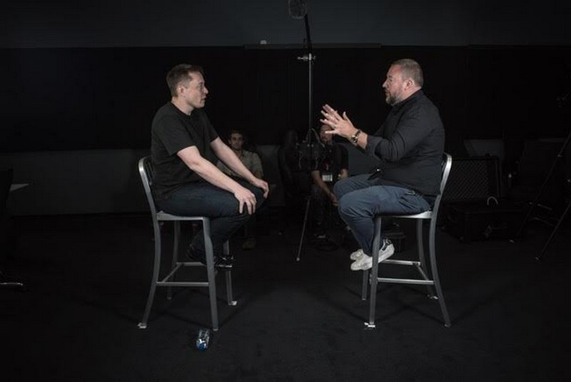Elon Musk with Shane Smith on VICE