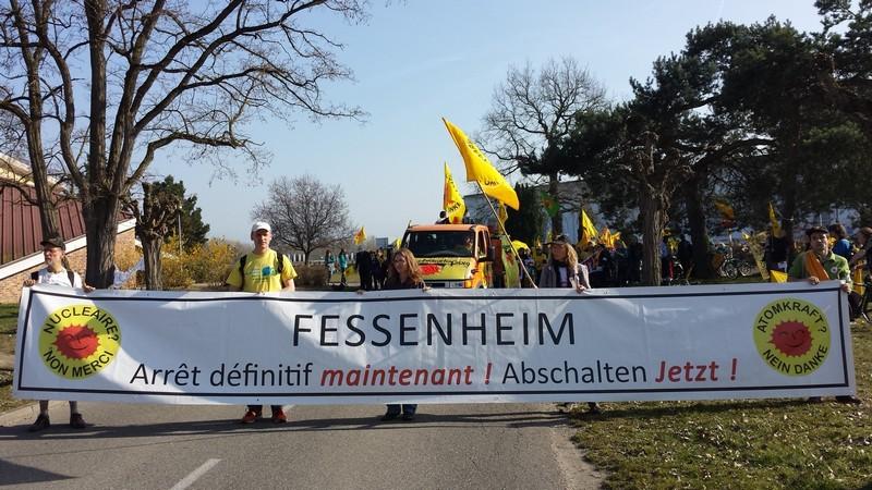 Fessenheim Protest
