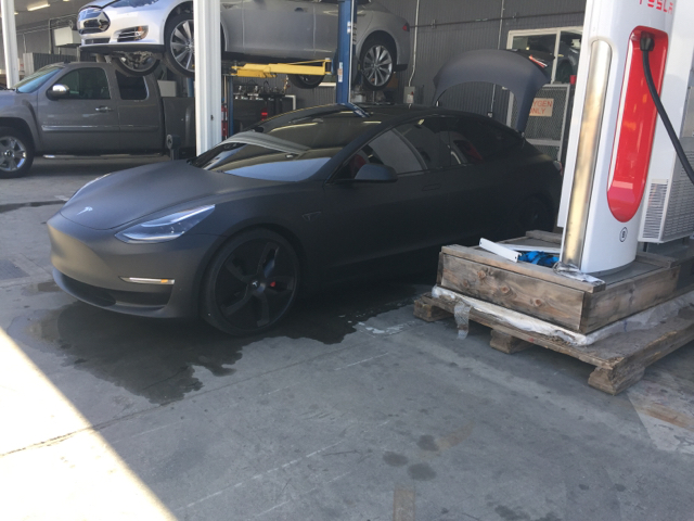 Matte-Black-Model-3-Supercharger