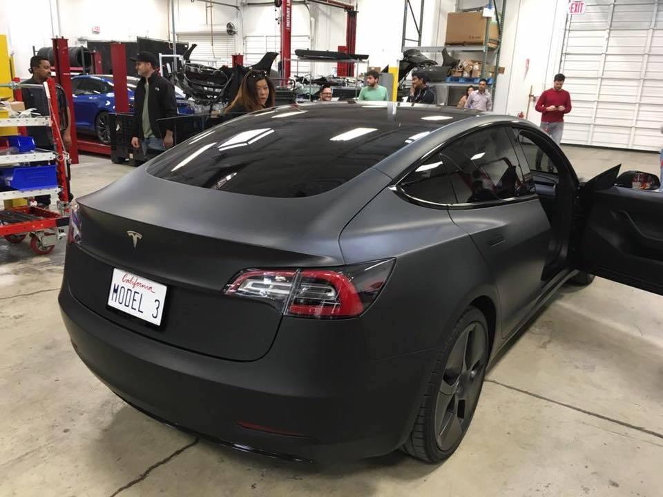 Tesla Model 3 Sightings and Spy Shots Gallery