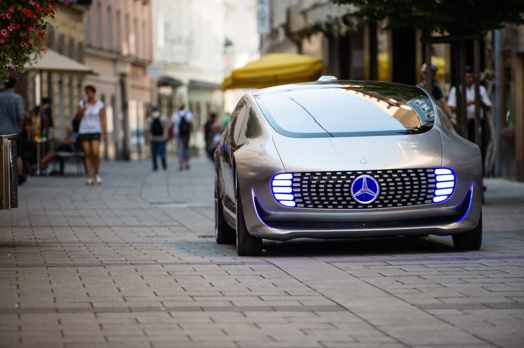 Mercedes Vision concept car