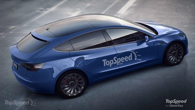 Model 3 hatchback concept