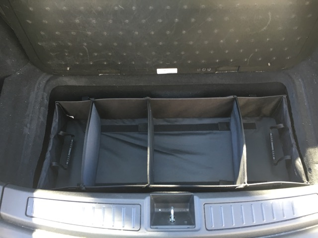 Review Tesla Model S Trunk Organizer For Your Junk In The