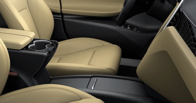 Revised Tesla Model S center console
