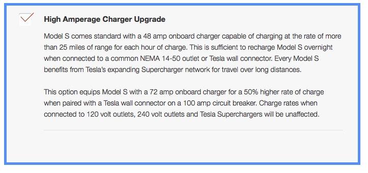 High amperage charger
