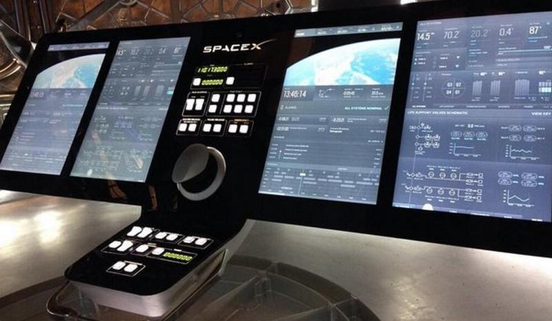 Space X Cockpit
