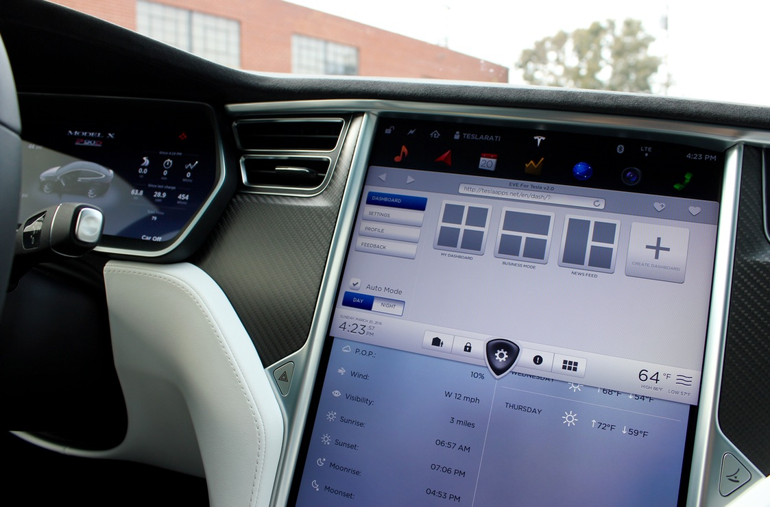 Tesla-Apps-Dashboard-Config