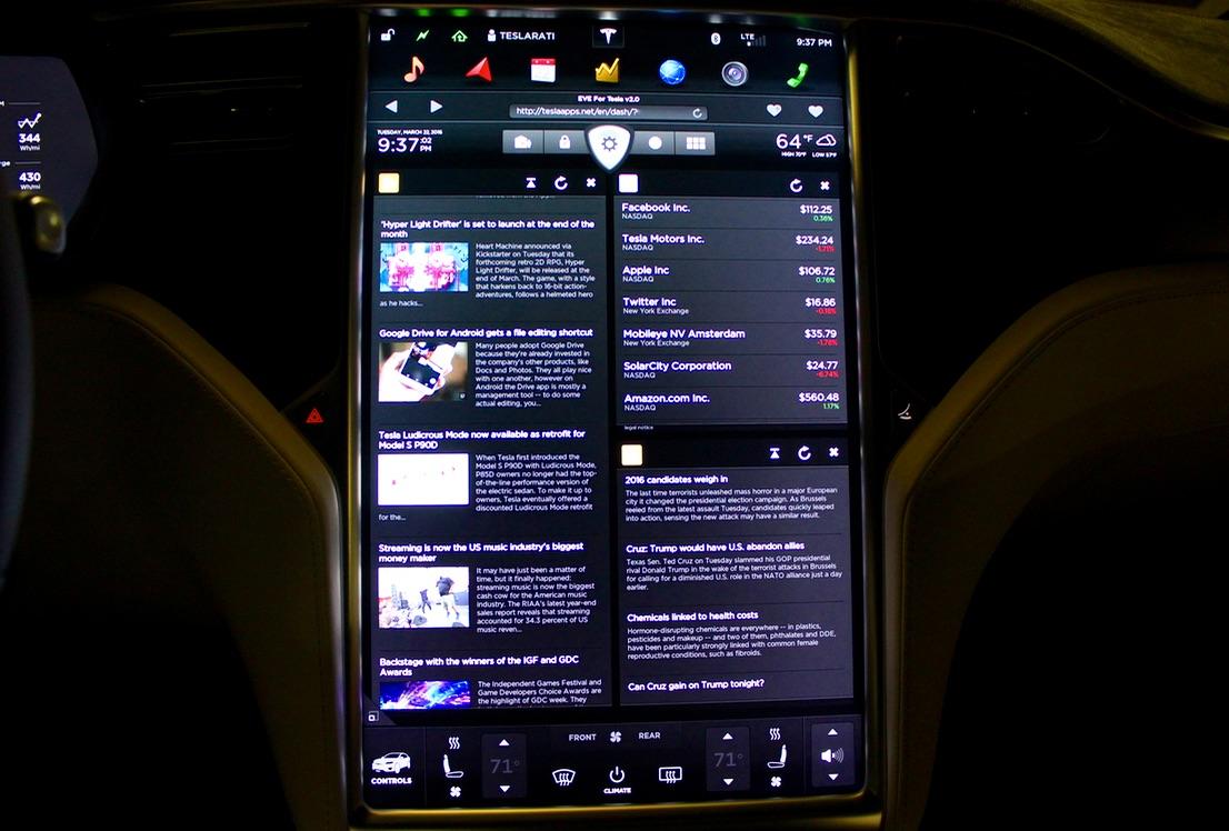 Tesla-Apps-Touchscreen