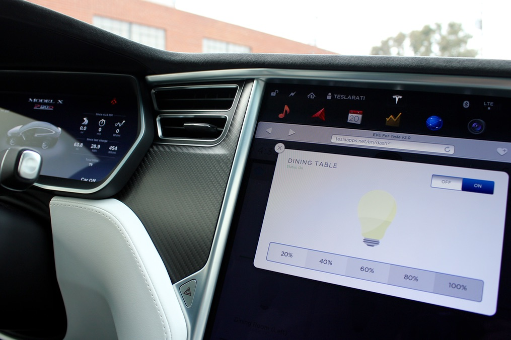 Mobileye Share Price >> EVE for Tesla Brings Smart Home Integration to the Model S ...