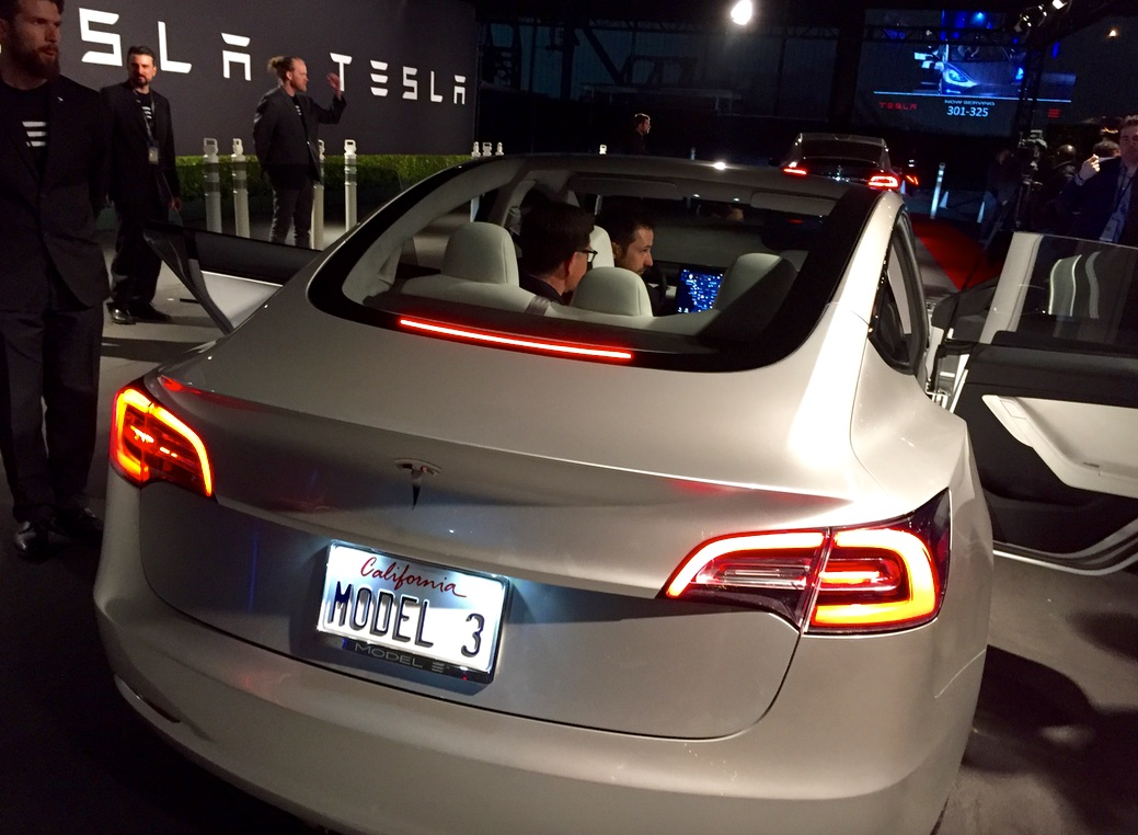 There S A Reason For The Tesla Model 3 Trunk Design