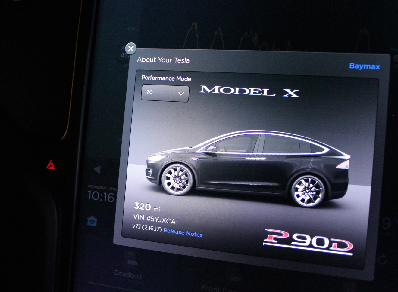 Tesla 'Performance Mode' Easter Egg