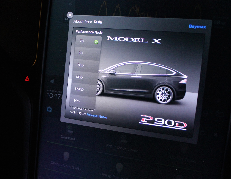 Tesla 'Performance Mode' Easter Egg